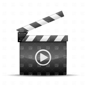 Player icon film slate